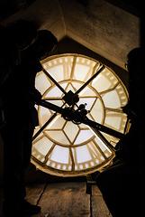 Bath Cathedral Clocktower - 20160324