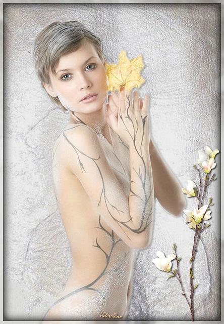 Fleur de givre...