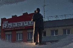 Lenin in der Pfütze