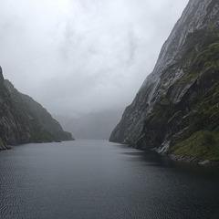 Trollfjord entrance.