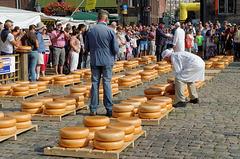 Le marché aux fromages