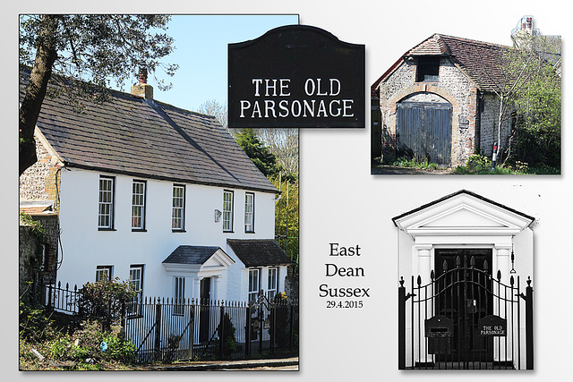 The Old Parsonage - East Dean - Sussex - 30.4.2015
