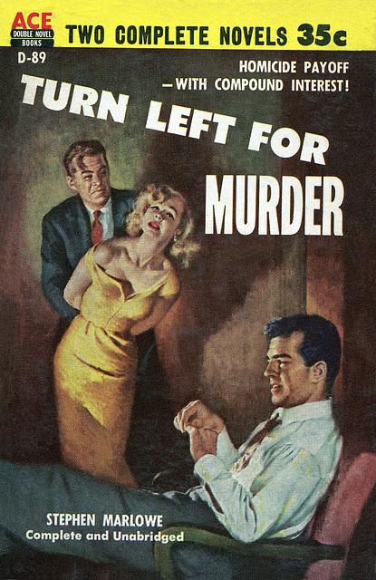 Turn Left For Murder, by Stephen Marlowe