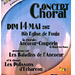Concert à Fouju le 14 mai 2017