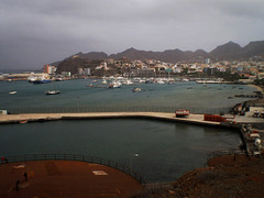 Overview to the harbour.
