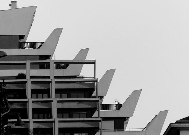 Balcons / cues d'avions