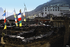 Marpha - Népal