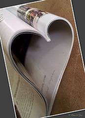 Gevouwen hart... ♥