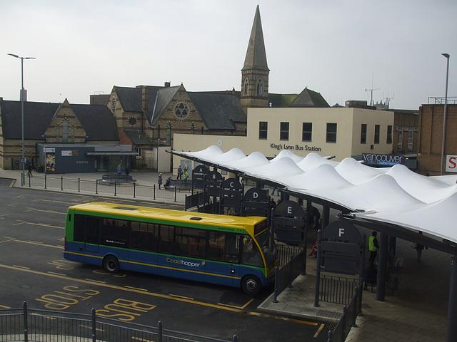DSCF2801 King's Lynn bus station - 11 Mar 2016