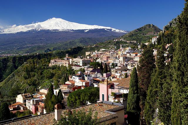 Taormina + Etna