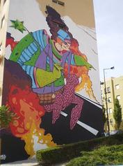 Mural by Mar.