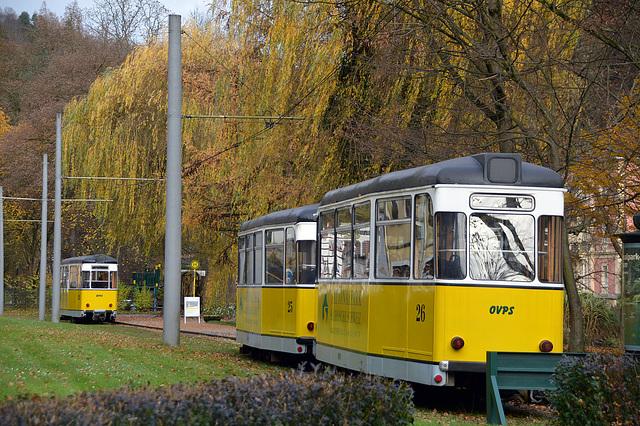Kirnitzschtalbahn in Bad Schandau