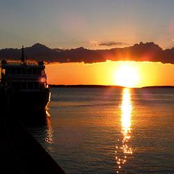 HR - Fažana - Sunset