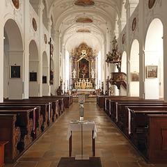 In der Stadtpfarrkirche St. Peter (Neuburg)