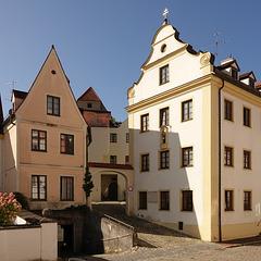 wohl der älteste Baugrund von Neuburg (Kelten-Römer etc)