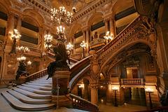 Ŝtuparoj en la Operejo Garnier