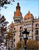 Barcellona : Pregevole architettura nel centro storico