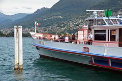 Ahoi auf dem Luganersee bei