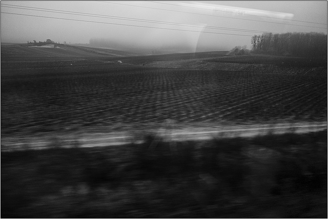 Paysage ferroviaire.