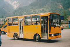 Courmayeur bus - 29 Aug 1990