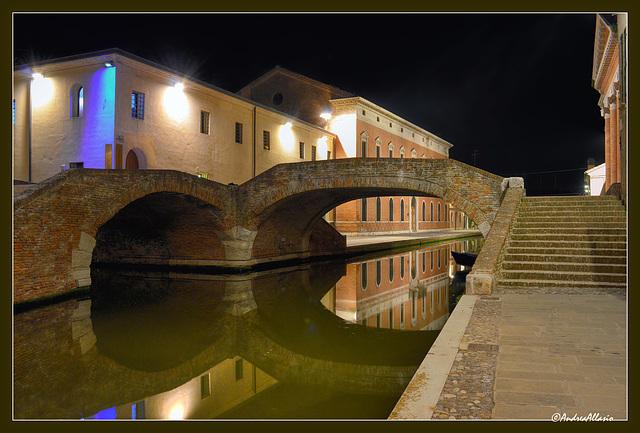 Il ponte degli sbirri - Comacchio