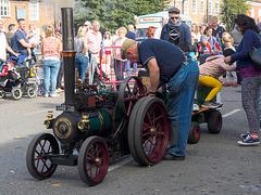 Mini steam engine
