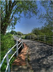 River Thame at Shabbington Bridge, Oxfordshire
