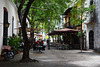 Dominican Republic, Santo Domingo, Calle El Conde - the First Cobbled Street in the New World