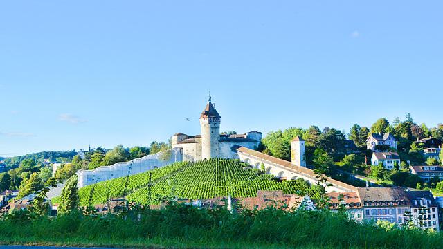 Festung Munot  in Schaffhausen Schweiz
