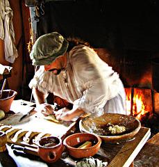Historical Interpreter: Hot Work Making Pasties