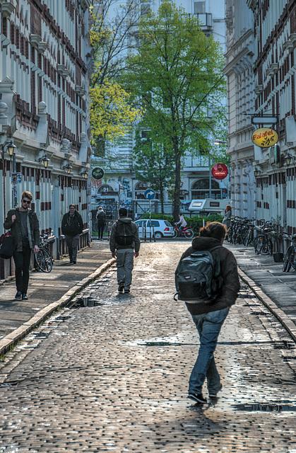 Alley - Beckstraße im Schanzenviertel