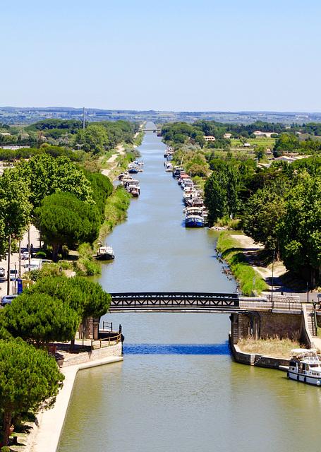 Canal du Rhone a Sete