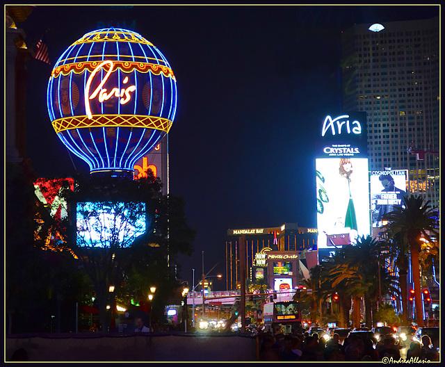 Lights and people - Las Vegas