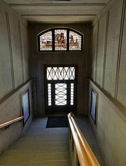 Eingang zum Kontorhaus Stubbenhuk