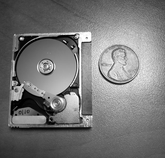 Cute little hard drive
