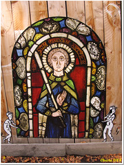 """Helpers carrying the """"stained glass window"""";-)"""