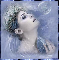 La fille dans la glace...