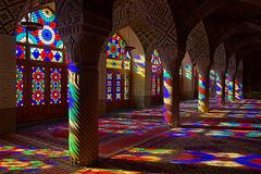 Nasir Al-Mulk Mosque (Pink Mosque) - Shiraz
