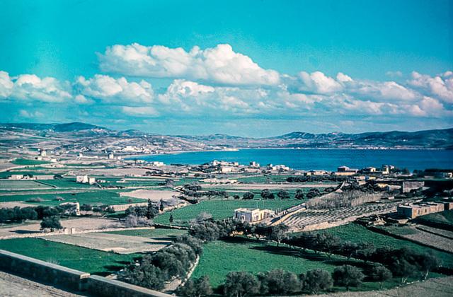 Milos 1944 - View towards Adamas (180°)