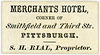 S. H. Rial, Proprietor, Merchants Hotel, Pittsburgh, Pa., ca. 1866