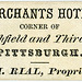 S. H. Rial, Proprietor, Merchants Hotel, Pittsburgh, Pa., ca. 1866