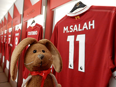 The new signing at Anfield