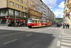 Prague 2019 – DPP Tatra T3RP 8354 on line 8