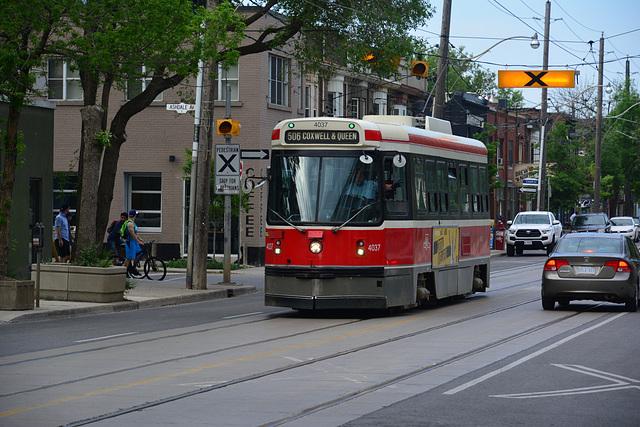 Canada 2016 – Toronto – CLRV tram 4037