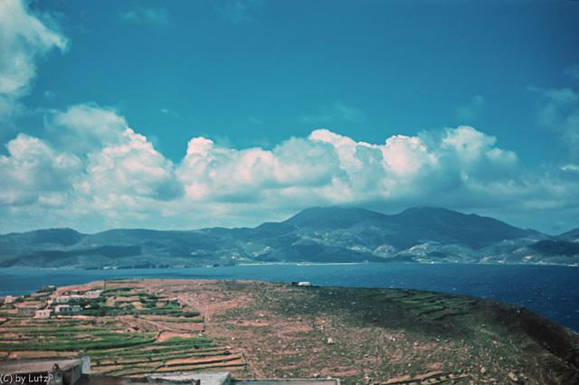 Milos 1944 - View from Tripiti (240°)