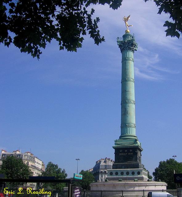 Colonne de Juilliet, Paris, 2013-07-09
