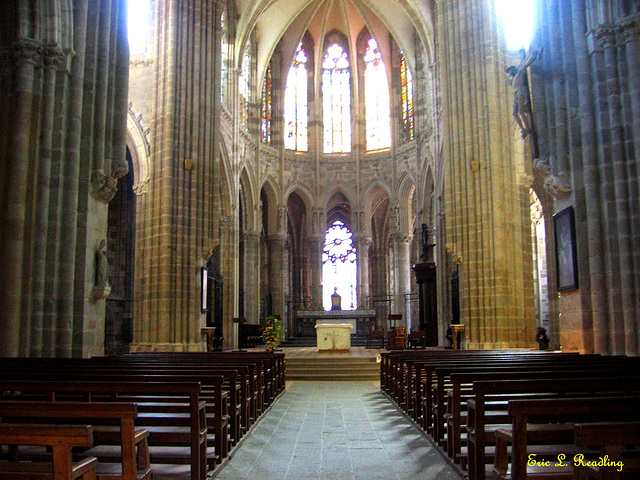 Basilica of Our Lady of the Thorn, Evron, France