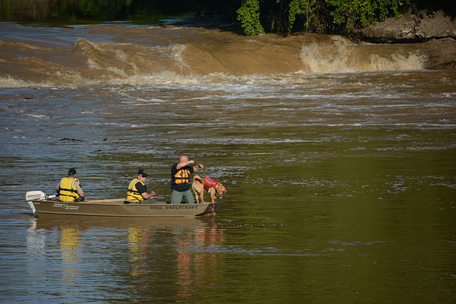 News entry: Hocking River drowning