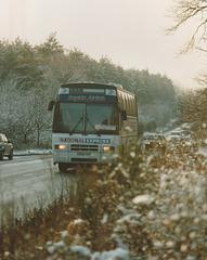 Wessex G562 VHY near Barton Mills - 21 Nov 1993