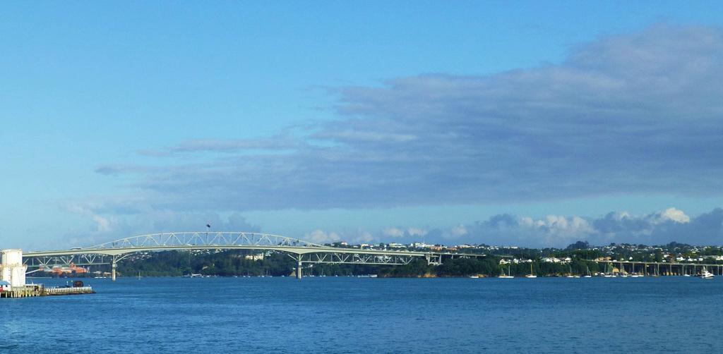Auckland Harbour Bridge - 20 February 2015